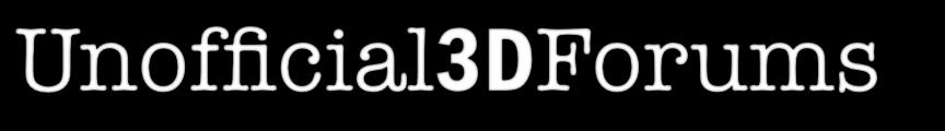 Unofficial 3D Forums